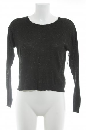 H&M Divided Cropped Top Punktemuster Casual-Look