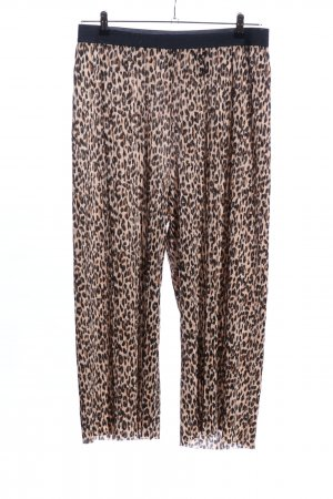 H&M Divided Culottes animal pattern casual look
