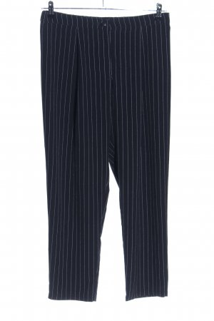 H&M Divided Culottes black-white striped pattern business style