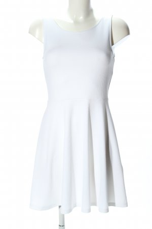 H&M Divided Abito cut out bianco stile casual