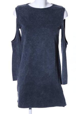 H&M Divided Cut-Out-Kleid blau Casual-Look