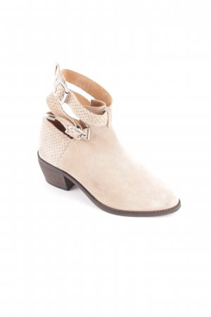 H&M Divided Cut Out Booties beige street-fashion look