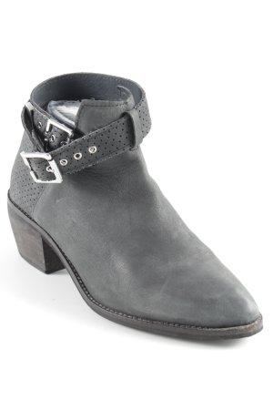 H&M Divided Cut out boots grijs-groen-grijs Biker-look