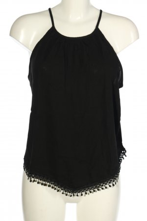 H&M Divided Top cut out negro look casual