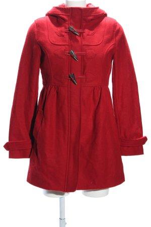 H&M Divided Duffle-coat rouge style décontracté