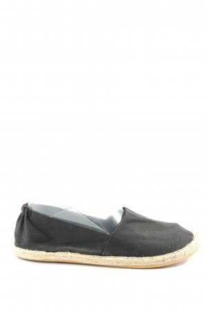 H&M Divided Espadrille Sandals black-natural white casual look
