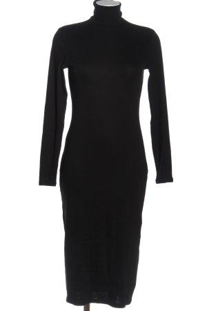 H&M Divided Longsleeve Dress black casual look
