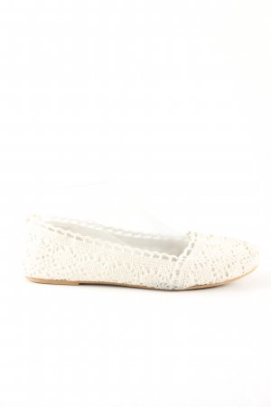H&M Divided faltbare Ballerinas creme Casual-Look