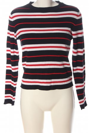 H&M Divided Fine Knit Jumper striped pattern casual look