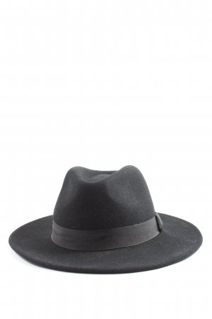 H&M Divided Vilten hoed zwart casual uitstraling