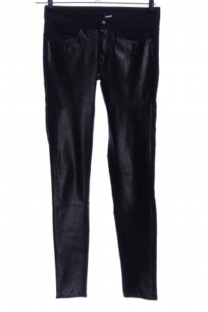 H&M Divided Five-Pocket-Hose schwarz Casual-Look