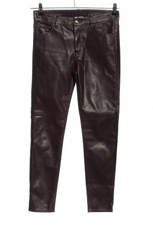H&M Divided Pantalone cinque tasche marrone stile casual