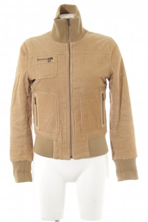 H&M Divided Fliegerjacke ocker Casual-Look