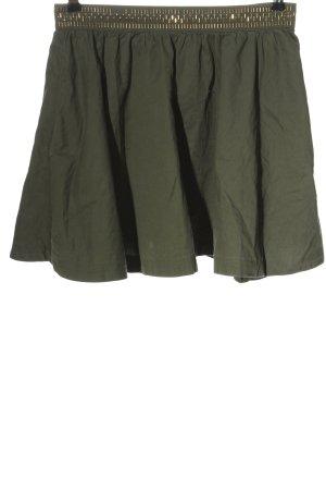 H&M Divided Glockenrock khaki Casual-Look