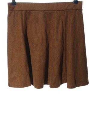 H&M Divided Glockenrock braun Casual-Look