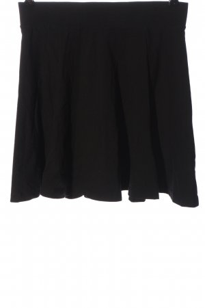 H&M Divided Glockenrock schwarz Casual-Look