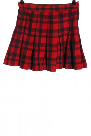 H&M Divided Godet Skirt red-black casual look
