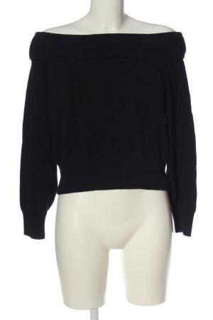 H&M Divided Jersey de punto grueso negro look casual