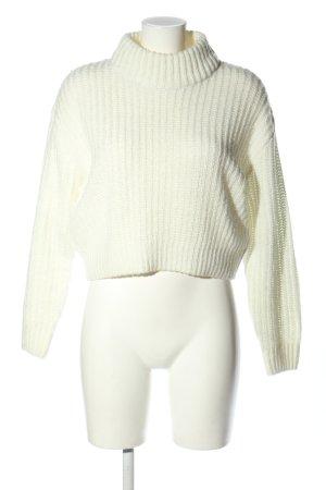 H&M Divided Pullover a maglia grossa bianco stile casual