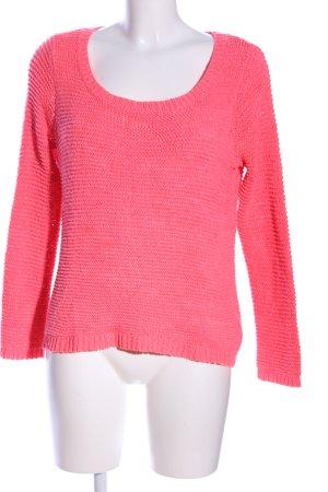 H&M Divided Pull à gosses mailles rose style décontracté