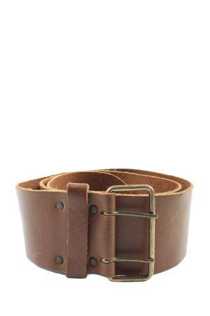 H&M Divided Hebilla del cinturón marrón estilo «business»