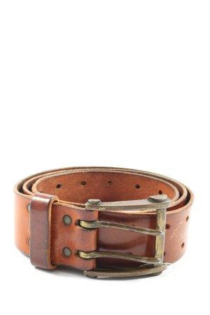 H&M Divided Boucle de ceinture brun style décontracté