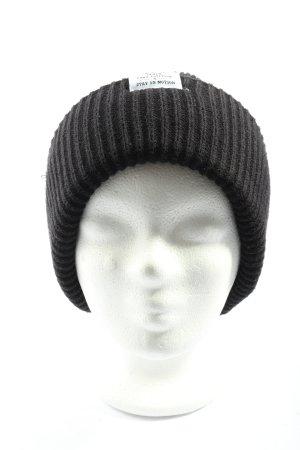 H&M Divided Crochet Cap black casual look