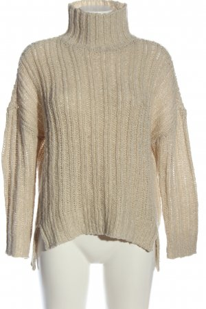 H&M Divided Crochet Sweater cream casual look