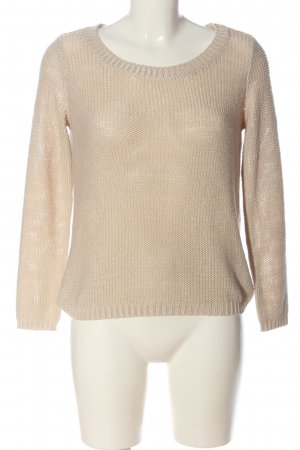H&M Divided Jersey de ganchillo crema look casual