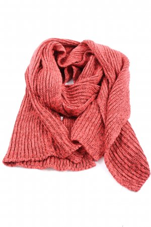 H&M Divided Crochet Scarf red casual look