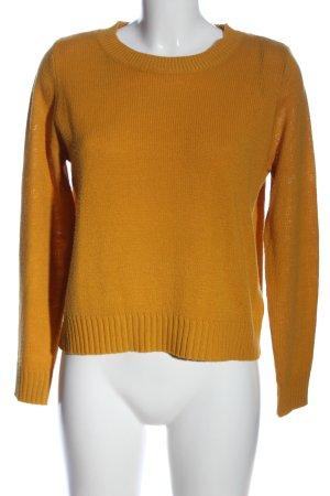 H&M Divided Gehaakt shirt licht Oranje casual uitstraling
