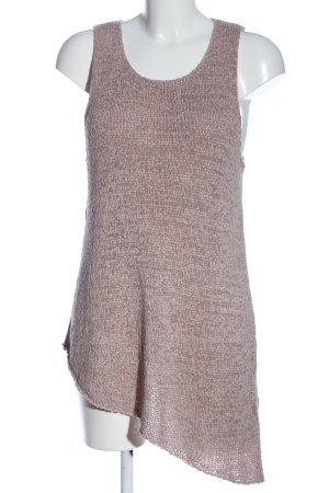 H&M Divided Szydełkowany top różowy W stylu casual