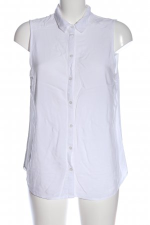 H&M Divided Hemd-Bluse weiß Business-Look