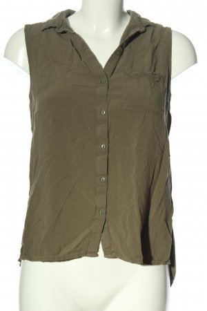 H&M Divided Hemd-Bluse khaki Casual-Look