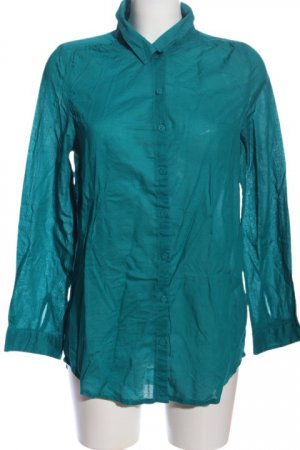 H&M Divided Hemd-Bluse blau Business-Look