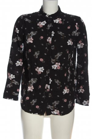 H&M Divided Hemd-Bluse Allover-Druck Business-Look