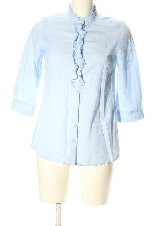 H&M Divided Camicia blusa blu stile casual