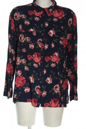 H&M Divided Hemd-Bluse Allover-Druck Casual-Look