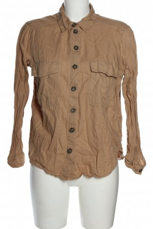 H&M Divided Hemd-Bluse braun Casual-Look