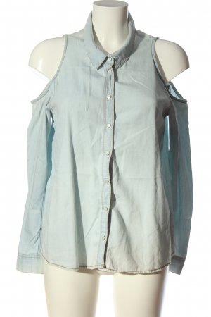 H&M Divided Hemd-Bluse blau Casual-Look
