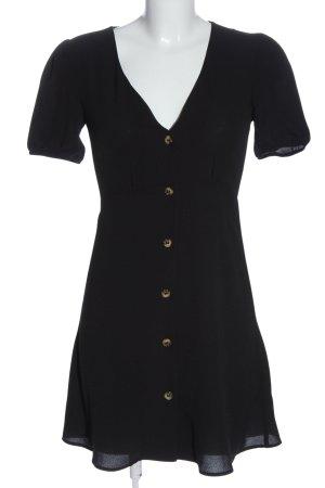 H&M Divided Robe chemise noir style décontracté