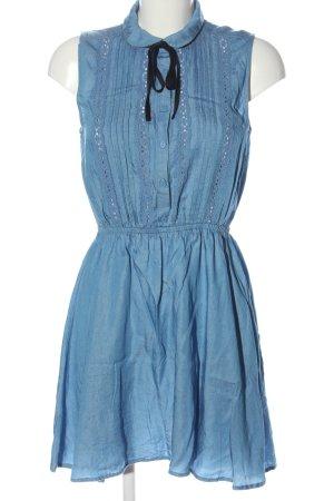 H&M Divided Koszulowa sukienka niebieski W stylu casual
