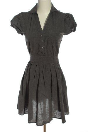 H&M Divided Koszulowa sukienka jasnoszary Melanżowy W stylu biznesowym
