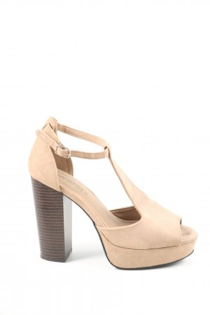 H&M Divided High Heels natural white elegant
