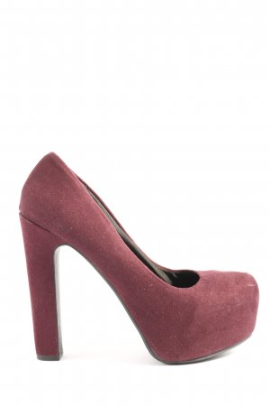 H&M Divided High Heels rot Casual-Look