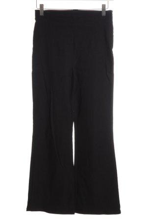 H&M Divided High-Waist Hose schwarz Elegant