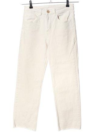 H&M Divided High Waist Jeans weiß Casual-Look