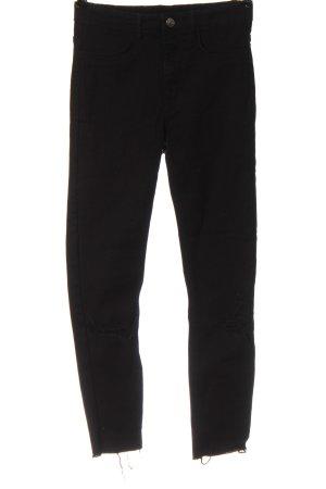 H&M Divided High Waist Jeans schwarz Casual-Look
