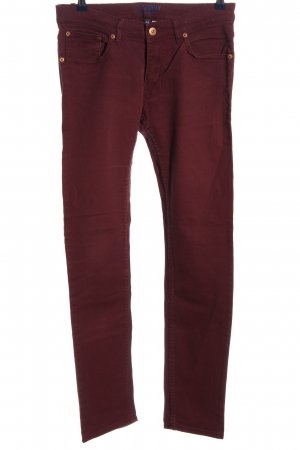 H&M Divided High Waist Jeans rot Casual-Look