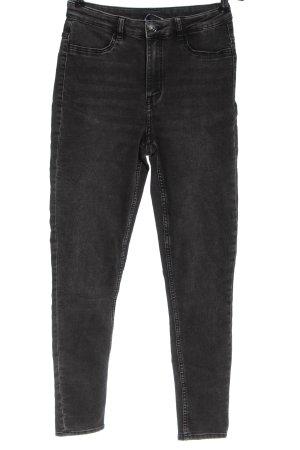 H&M Divided Jeansy z wysokim stanem jasnoszary W stylu casual